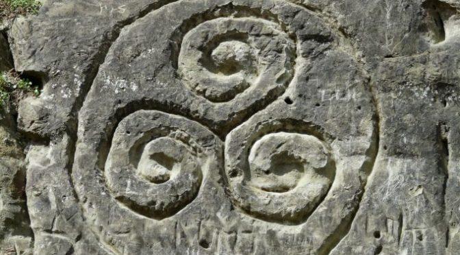 Triskelion, Keltská trojitá spirála