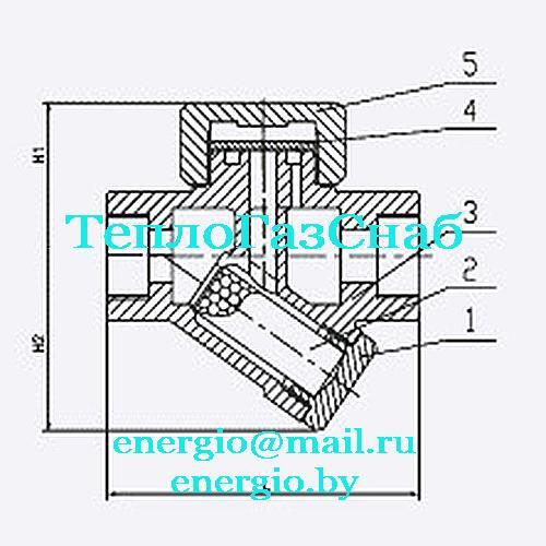 конденсатоотводчик с фильтром