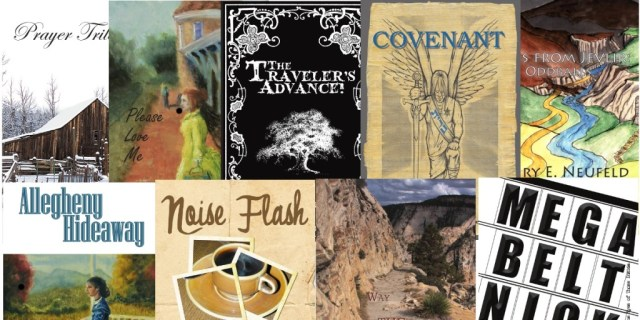 June 2013 Fiction Promo Book Collage