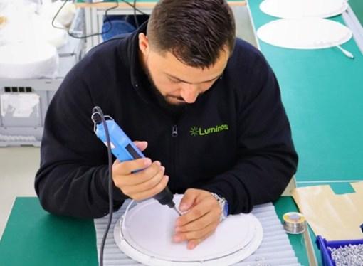 Domaći Luminos pokrenuo prvi pogon za proizvodnju LED panela u BiH