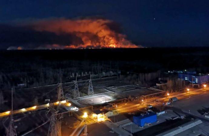 Zračne mase donijele malu količinu radijacije prema Evropi nakon požara u području Černobila
