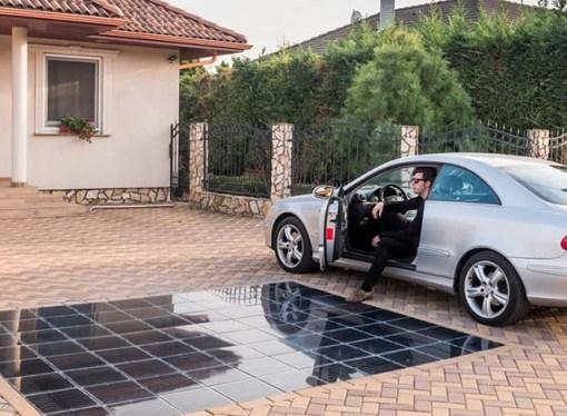 Mađarska kompanija, prvi proizvođač solarnih pločnika za kuće