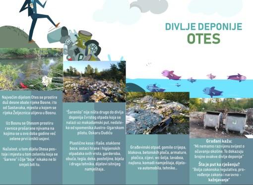 Divlja deponija u Otesu