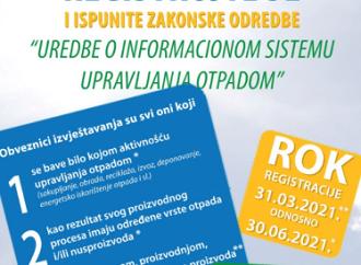Uspostavljen informacioni sistem upravljanja otpadom Federacije BiH