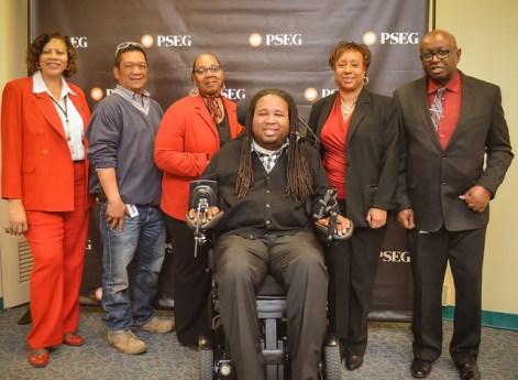 Robin Hall and Enabling Abilities Board members