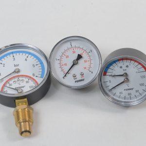 Термометри и манометри