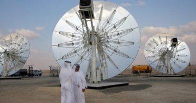 В Дубаи построят крупнейшую в мире солнечную электростанцию