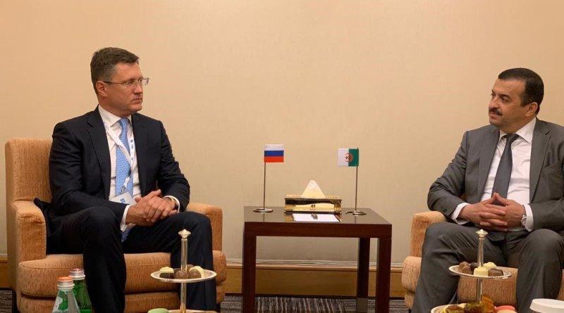Состоялась встреча Александра Новака с Министром энергетики Алжира Мухамедом Аркабом