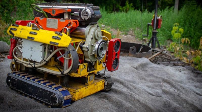 Робот-сканер проверяет состояние новосибирских теплосетей