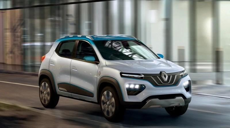 Renault начала продажи рекордно дешевого электрического кроссовера City K-ZE