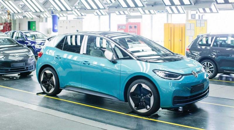 Volkswagen официально запустил производство электромобиля ID.3 в Цвиккау