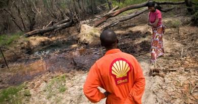 Нигерийцы подали в суд на Shell из-за загрязнения нефтью почвы
