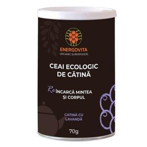 Ceai ecologic de Catina cu Lavanda 70g