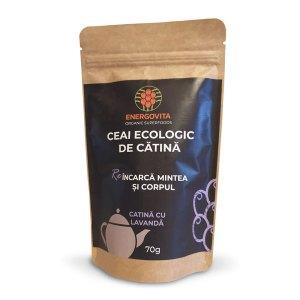 Ceai Ecologic de Catina cu Lavanda, 70g