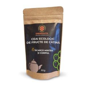 Ceai Ecologic de fructe de catina, 60g