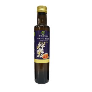 Sirop ecologic de floare de soc cu miere