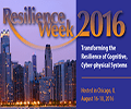 Resilience Week 2016 in Chicago, IL, August 16 – 18