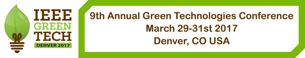 IEEE Green Tech Denver 2017