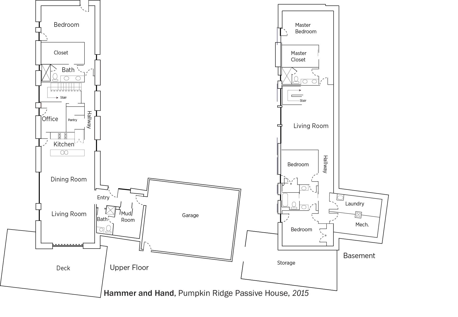 Doe Tour Of Zero Pumpkin Ridge Passive House By Hammer