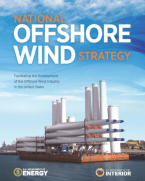Cover of U.S. National Offshore Wind Strategy