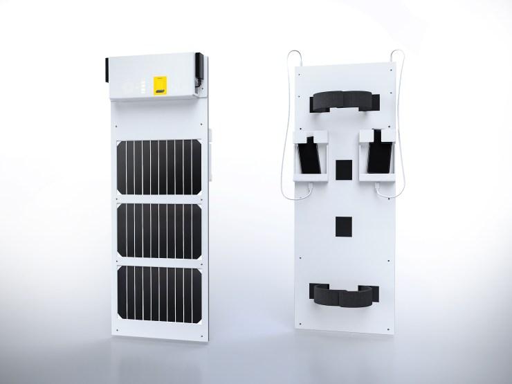 Pannello Solare per ricarica cellulari