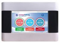 Energy Billing's vThree meter front screen.