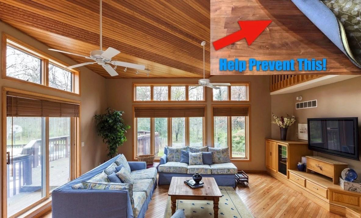 Sun Damaged Floors & Furnishings - How To Protect Against Fading - Home Window Tinting in Iowa City, Iowa