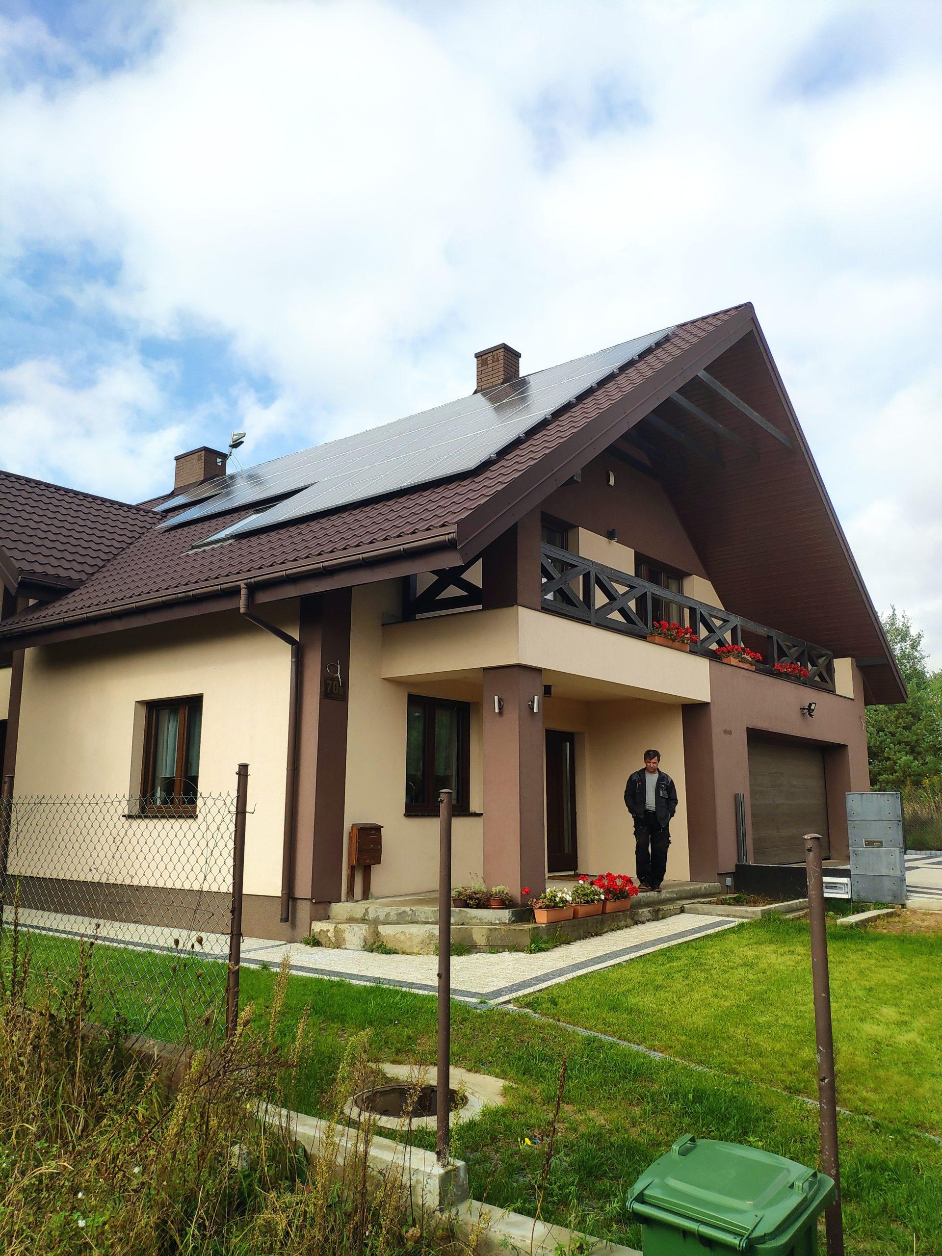 Instacja 10 kWp – Białystok