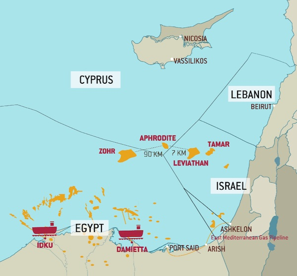 Egypt and Cyprus reach preliminary agreement on natural ...