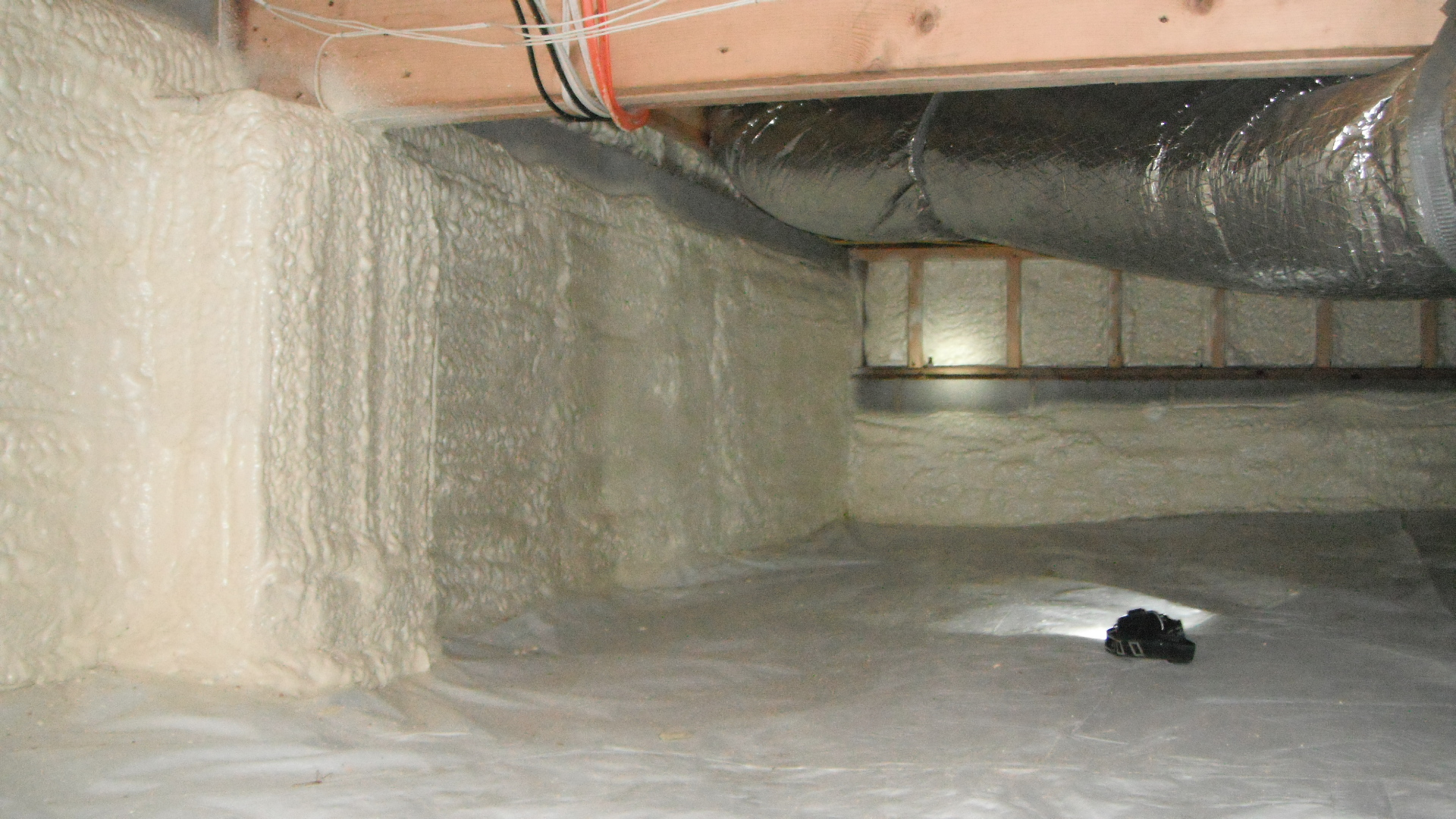 Sealed Crawl Spaces Stetten Home Services