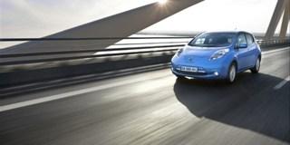 Nissam Leaf eMobility Elektroauto