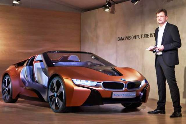 bmw i8 spyder elektro roadster kommt erst 2017 oder 2018. Black Bedroom Furniture Sets. Home Design Ideas