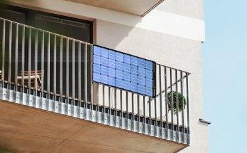 Balkon Solaranlage   Solar Inselanlage Auf Energyload