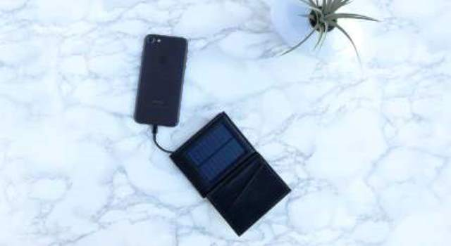 solar portmonaie