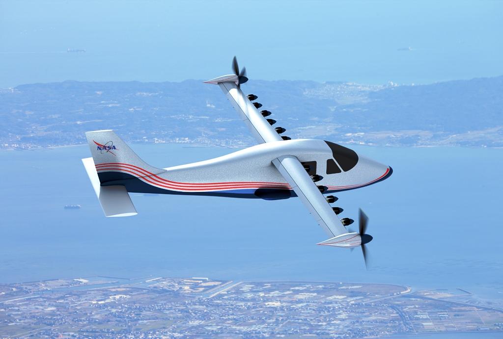 elektroflugzeug-nasa