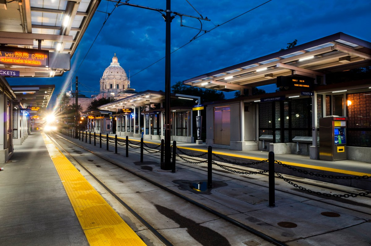 Saint Paul light rail station