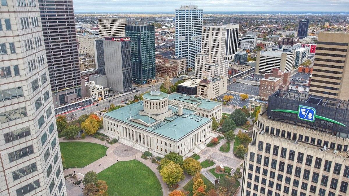 Ohio Statehouse in Columbus, Ohio.