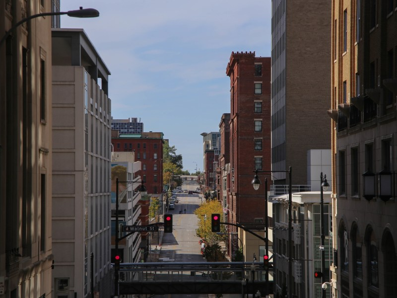 Downtown Kansas City.