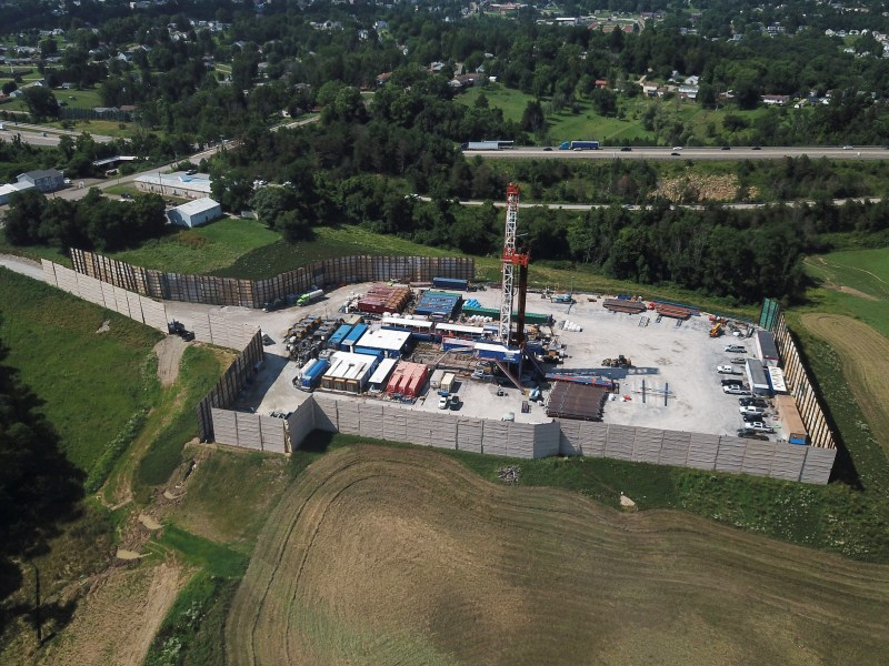 Fracking in Richland, Ohio, in 2019.