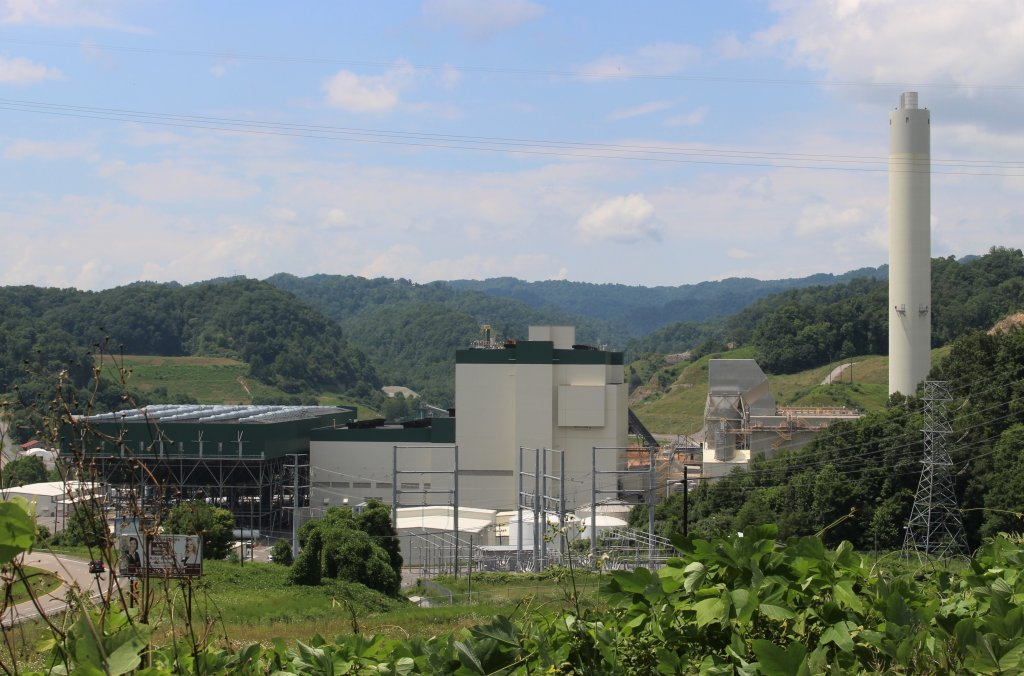 Dominion Energy's Virginia City Hybrid Energy Center in Wise County, Va., 2019