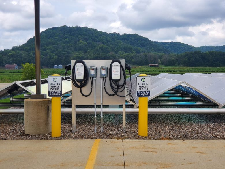 MiEnergy Cooperative's electric vehicle chargers.