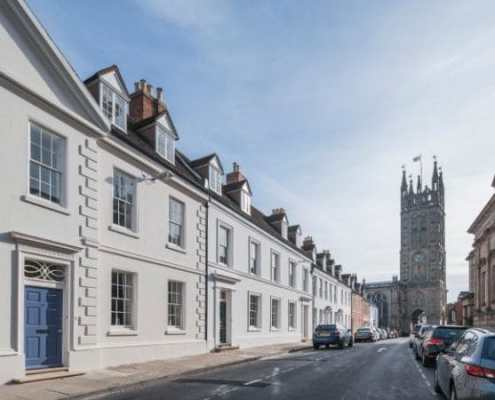 The 'most handsome Georgian street in the Midlands' is having a 21st-century facelift
