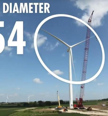 453 rotor diameter 354 feet