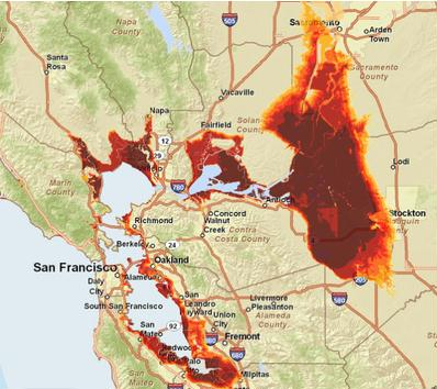 sea level rise california map What Can California Do About Sea Level Rise Resilience