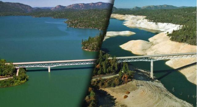 This image has an empty alt attribute; its file name is drought-dam-lake-oroville.jpg