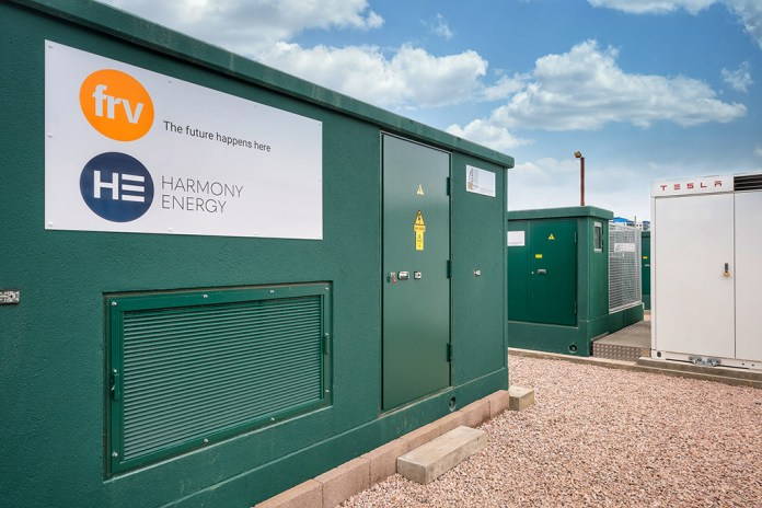 FRV & Harmony Energy commission Megapack energy storage project in the UK
