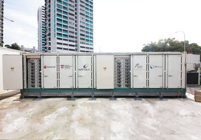 Sunseap Leads NTU, Wärtsilä Consortium for Singapore's First Utility-scale Energy Storage System