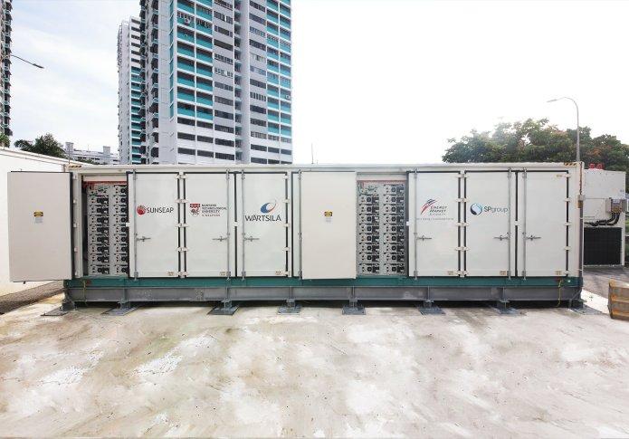 Sunseap Leads NTU, Wärtsilä Consortium for Singapore's First Utility-scale Energy Storage System