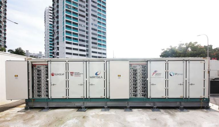 Utility-Scale Energy Storage System Supplied By Wärtsilä Helps Move Singapore Towards A Low-Carbon Energy Future
