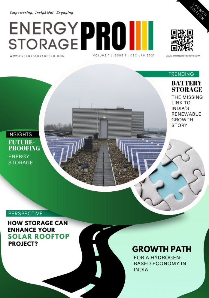 EnergyStorage Pro India Dec-Jan 2021 Issue (Launch Edition)